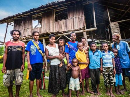 April Salumei Papua-Neuguinea